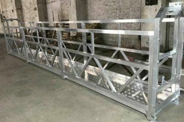 Zlp800 çelik dış duvar temizleme için çalışma platformu 380v 3 faz askıya