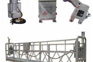 zlp800 2.5 m * 3 bölümler demir karşı ağırlık ile asma erişim ekipmanı