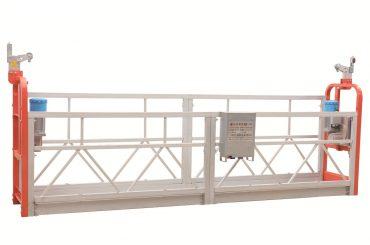 zlp630 boyalı çelik cephe temizleme askıya alınmış çalışma platformu