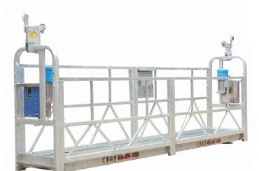 motorlu asma platform, inşaat gondol lifti, bmu (zlp500 / 630/800)