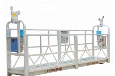 Kaldırma Yüksekliği 300m ile 10m 800kg Asma İskele Sistemleri Alüminyum Alaşım