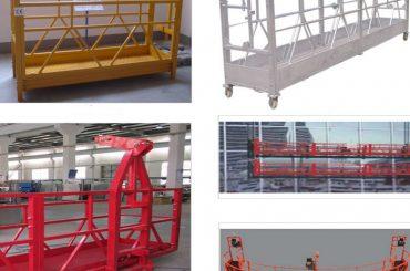 800 kg boyalı / sıcak galvanizli / alüminyum alaşımlı askıya alma ekipmanı zlp800
