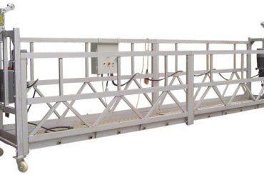 Vinç ile 630 kg Elektrik Asma Erişim Ekipmanları ZLP630 LTD6.3