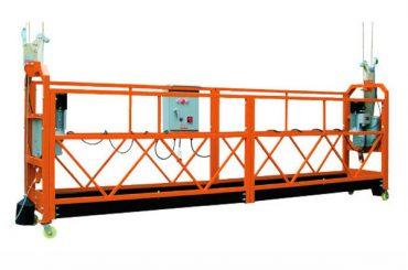 2.5M x 3 Bölüm 1000kg Asma Erişim Platformu Kaldırma Hızı 8-10 m / dak