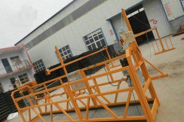 Bina İnşaatı İçin Güvenilir ZLP630 Boyama Çelik Asma Platform (2)