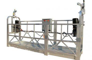 ce / iso onaylı zlp elektrik inşaat / bina / dış duvar askıya platformu / beşiği / gondol / salıncak sahne / gökyüzü climbe