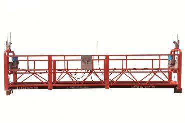 çelik / sıcak galvanizli geçici askıya alınmış platform, zlp500 bakım beşiği