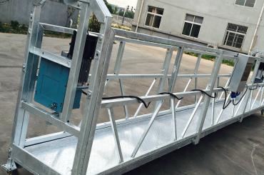 pencere temizleme zlp630 halat askıya alınmış platform gondol beşik ile vinç ltd6.3