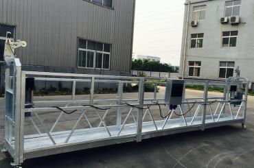 Yenileme / boyama için ayarlanabilir alüminyum alaşım halat askıya platformu zlp 800