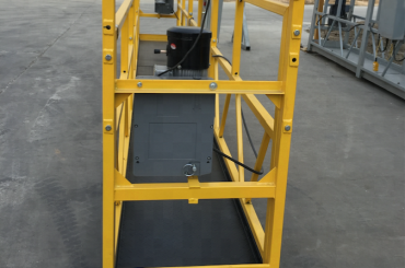 İnşaat için 7.5m geçici olarak askıya alınmış tel halat platformu