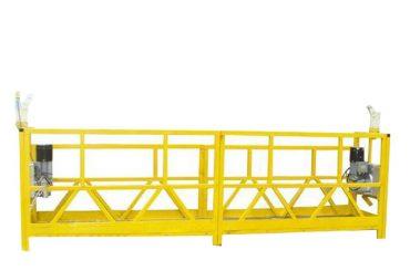 zlp 630 geçici olarak monte edilmiş çalışma platformu 630kg kapasiteli asma platform