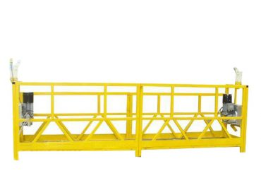çelik / alüminyum asma platform kızağı, 630kg asma erişim ekipmanı