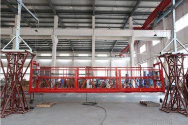 2 * 2.2kw erişim platformları askıya alındı zlp1000 kaldırma hızı 8 - 10 m / dak