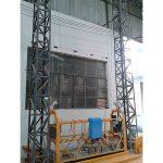 10m güçlü alüminyum halat askıya platformu zlp1000 tek fazlı 2 * 2.2kw