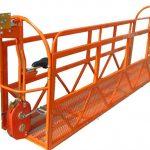 6m 1.5kW 630kg boyalı iskele çalışma platformları alüminyum çelik tel ile 8.3mm