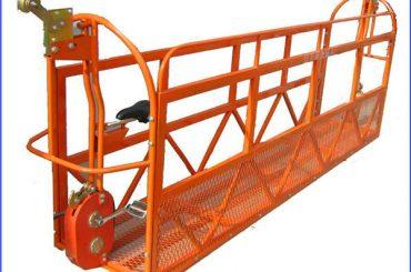 1000 kg 7.5 mx 3 bölüm alüminyum alaşım askıya alınmış çalışma platformu zlp1000