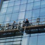 Yüksek katlı bina boyaması için 100m - 300m askıya alınmış erişim platformları 220v