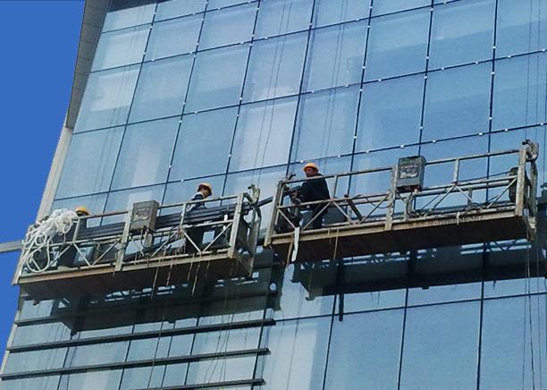 Yüksek Katlı Bina Boyama için 100m - 300m Asma Erişim Platformları 220v