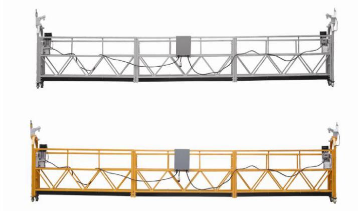 208 V / 60HZ Üç Fazlı 100m, 150m, 200m, vb Alüminyum Alaşım ZLP630 Asma Cradle