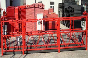 bina temizleme askıya alınmış çalışma platformu zlp800 800kg nominal yük ile