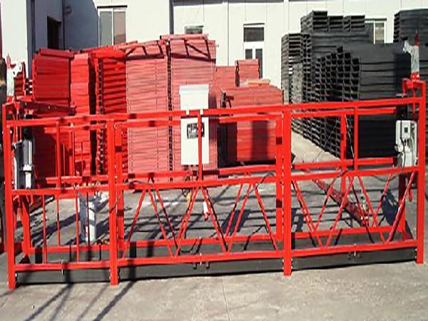 Bina Temizleme Zırhlı Çalışma Platformu Zlp800 800kg Anma Yüküyle