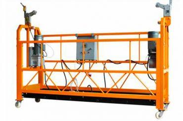 ce sertifikalı alüminyum askıya çalışma platformu zlp1000 motor gücü 2.2kw