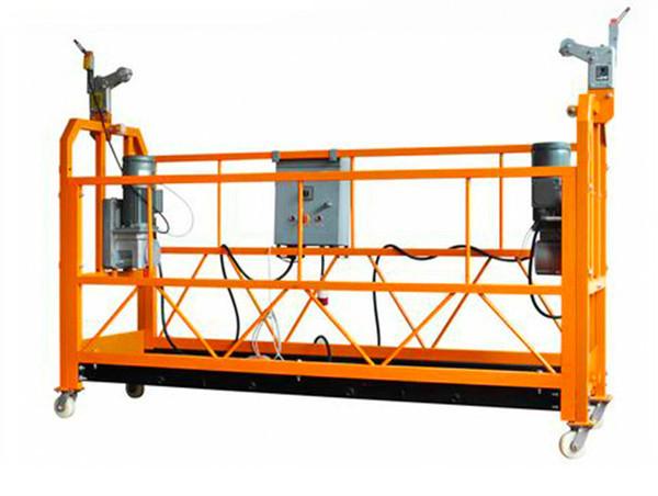 CE Belgeli Alüminyum Asma Çalışma Platformu ZLP1000 Motor Gücü 2.2kw