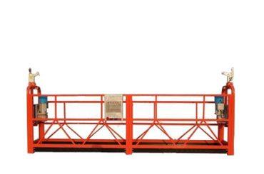 Dış duvar için zlp500 hava asılı platform beşiği inşaat ekipmanları