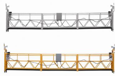 Duvar boyama için 3 fazlı ip askıya platformu sıcak galvanizli 7.5m zlp800a