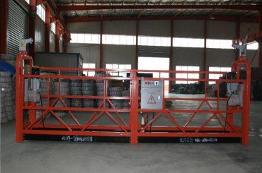 zlp1000 8 - 10 m / dak bina inşaatı ve bakımı için güvenli asma platform