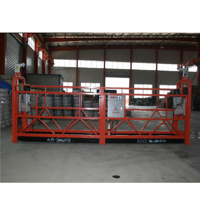 Forklift Askıya Alın Platform Kızağı Ayarlanabilir Çalışma Platformu