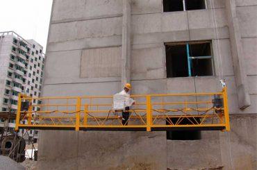 Bina temizliği için pim-tipi 7.5m özelleştirilmiş 800 kg platformlar