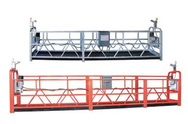 Çalışan 3 kişi için 10m çelik / alüminyum asma ekipmanı zlp1000