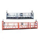 yüksek artış bina bakım pencere temizleme askıya çalışma platformu zlp630