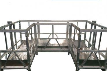U bant ile yüksek mukavemetli askıya alınmış çalışma platformu