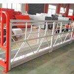 2 bölüm 500kg 3 tip karşı ağırlık ile çalışma platformu askıya aldı