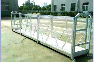 SAL Serisi Emniyet Kilidi ile Çelik / Alüminyum Asma Çalışma Platformları