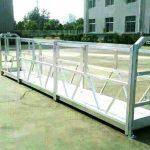 Farklı model elektrik inşaat çalışma platformu beşik kaldırma