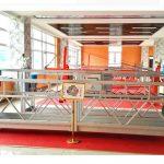 Zlp630 alüminyum askıya platformu (ce iso gost) / yüksek artışlı pencere temizleme ekipmanları / geçici gondol / beşik / salıncak sahne sıcak