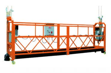 2.5mx 3 bölüm 1000kg erişim platformu kaldırma hızı 8-10 m / dak askıya