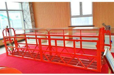 Çelik Asma Erişim Platformları 7.5m 1.8kw 800kg Bina Bakımı