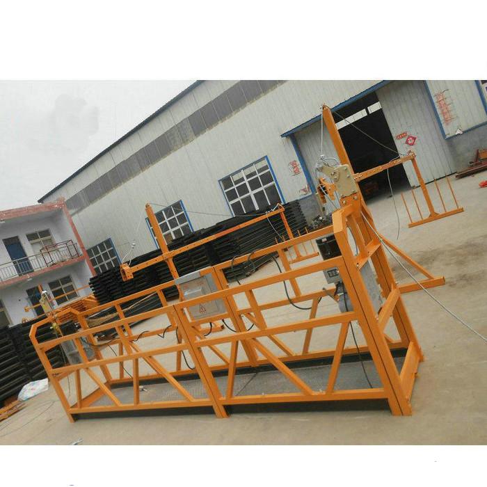 Bina İnşaatı İçin Güvenilir ZLP630 Boyama Çelik Asma Platform
