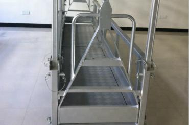 askıya alınmış çelik çalışma platformu / askıya alınmış çelik platform