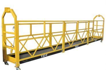 çelik halat 8.6mm ile özelleştirilmiş zlp1000 asma erişim platformları bakım beşiği