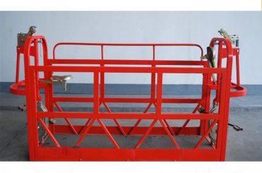 800kg boyalı / alüminyum asma platformlar motor gücü 1.8kw iskele platformu