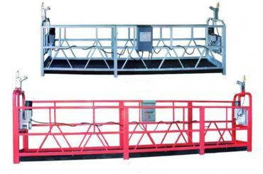 zlp 630 halat askıya platformu hava çalışma salıncak sahne iskele plastik sprey boyalı