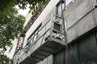 zlp1000 2.5m * 3 2.2kw 8kn elektrikli kontrol sistemi ile erişim kızaklarını askıya aldı