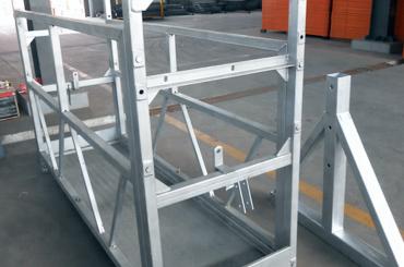 Yüksek güvenlik halatı platform asansörleri kurulum platformu zlp630 zlp800 zlp1000 askıya