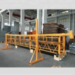 zlp 500 lp 630 bina için geçici olarak askıya alınmış tel halat platformu