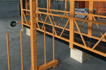 Tek fazlı asma halat platformu 800 kg 1,8 kw, kaldırma hızı 8 -10 m / dak